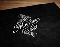 Menu restauracji Lewitacja.