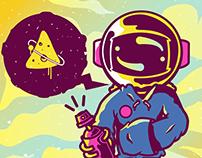 Astro // space graff