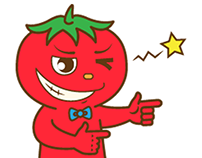 LINE Sticker: Tomo the Tomato