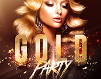 Gold Party - Templates