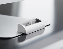 OCDock - iPhone charging dock that mounts to iMac stand