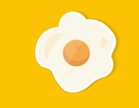 Food Icons Motion Graphic Test
