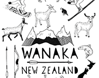t-shirt for a Tv show. New Zealand