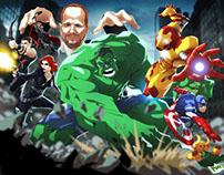 """Avengers"" Client: SciFiNow Magazine"