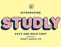Studly - Layered Font (Free Download)