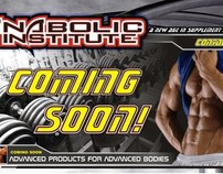 ANABOLIC INSTITUTE WEB LAYOUT AND PRODUCTS
