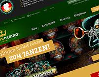OnlineCasino Deutschland – Web Design Draft