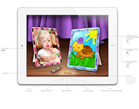 UI Designer Task for WACOM - ColorMe iPad app for Kids