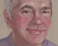 Portrait Sketch - Del Robertson