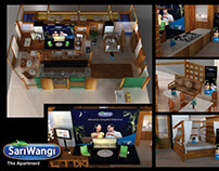 """Here This my 3D project """"Sariwangi enjoy the moment"""" :)"""