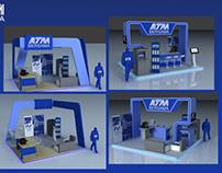 "ATM Bersama 3D Booth ""JakJazz Festival"""