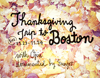 Visual Documentation: Thanksgiving Trip to Boston