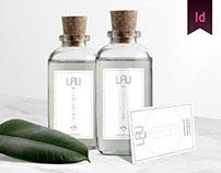 Branding, custom font and web design for Lau Beauty