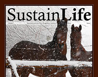 SustainLife Quarterly Journal Cover Design