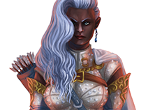 Lyra Agernis - Wayfinder Character Art