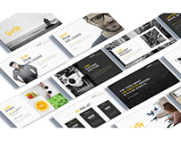 Sloth Creative Agency Powerpoint Template