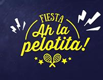 "Spot Fiesta ""Ah la pelotita"""