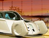 Electric super-light city car
