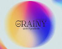 Grainy Spots & GradientsDesigned byMaya