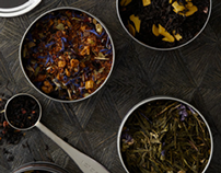Talbott Teas Package Design