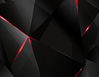 BEHIND - Free abstract dark polygonal wallpaper