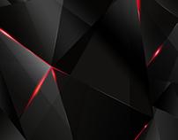 BEHIND - Free abstract dark polygonal wallpaper