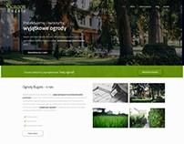 Projekt strony - Ogrody-bugala.pl