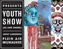 """Youth Show"" Direct mail piece"