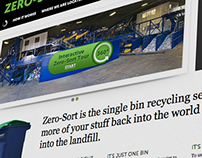 Zero-Sort Recycling Micro Site