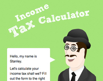 Income Tax Calculator Website