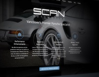 Scan Automotive - Website Design