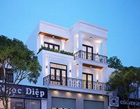 Mẫu thiết kế cải tạo nhà phố hiện đại 3 tầng đẹp 8x15m