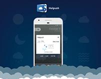 Helpush app