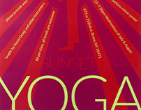 Wave Hill Cafe Yoga Poster
