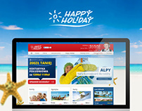 Happy Holiday - Travel Website