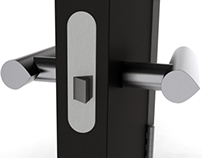 Directional door handle