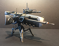 Mosquito Drone. Kitbashing and junk build.