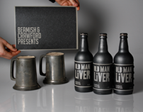 Old Man Liver - Beamish Stout Rebrand