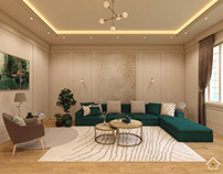 A Living room for green lovers