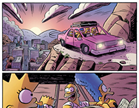 The Simpsons' Treehouse of Horror #18 COLORIST
