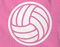 Pink Power Rangers - Netball Shirts