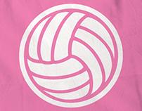 Pink Power Rangers - Netball Shirts