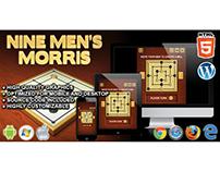 HTML5 Game: Nine Men's Morris