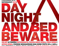 DAY NIGHT AND BED BEWARE - AIDS awareness day event