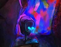 Random CG Painting