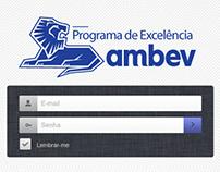 Sistema | Programa de Excelência Ambev (Treinamentos)