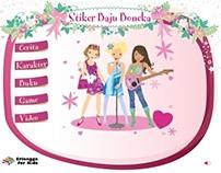 Stiker Baju Boneka
