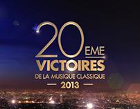 20ème Victoires Musique Classique - BOARD