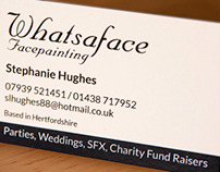 Whatsaface Business Cards