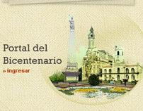 200 Años Bicentenario Argentino Bocetos para sitios